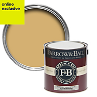 Farrow & Ball Sudbury Yellow no.51 Matt Estate emulsion paint 2.5L