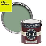 Farrow & Ball Breakfast Room Green no.81 Matt Estate emulsion paint 2.5L