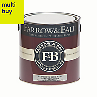 Farrow & Ball Estate Lulworth blue No.89 Matt Emulsion paint 2.5L