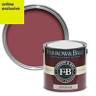 Farrow & Ball Estate Radicchio No.96 Matt Emulsion paint, 2.5L