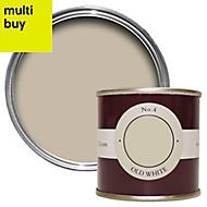 Farrow & Ball Estate Old white No.4 Emulsion paint 0.1L Tester pot