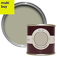 Farrow & Ball Estate French gray No.18 Emulsion paint 0.1L Tester pot