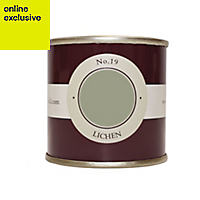 Farrow & Ball Estate Lichen No.19 Emulsion paint, 0.1L Tester pot