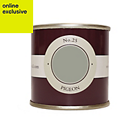 Farrow & Ball Estate Pigeon No.25 Emulsion paint, 0.1L Tester pot