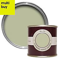 Farrow & Ball Estate Cooking apple green No.32 Emulsion paint 0.1L Tester pot