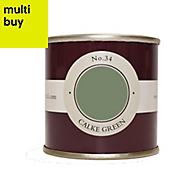Farrow & Ball Estate Calke green No.34 Emulsion paint 0.1L Tester pot