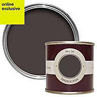 Farrow & Ball Estate Mahogany No.36 Emulsion paint, 0.1L Tester pot