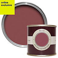 Farrow & Ball Eating Room Red no.43 Estate emulsion paint 0.1L Tester pot