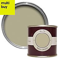 Farrow & Ball Estate Ball green No.75 Matt Emulsion paint 0.1L Tester pot