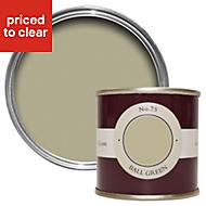 Farrow & Ball Ball Green no.75 Matt Estate emulsion paint 0.1L Tester pot