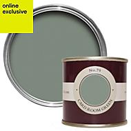 Farrow & Ball Card Room Green no.79 Estate emulsion paint 0.1L Tester pot