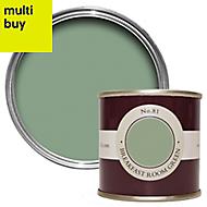 Farrow & Ball Estate Breakfast room green No.81 Emulsion paint 0.1L Tester pot