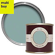 Farrow & Ball Estate Dix blue No.82 Emulsion paint 0.1L Tester pot