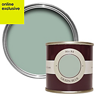 Farrow & Ball Green Blue no.84 Estate emulsion paint 0.1L Tester pot
