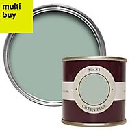 Farrow & Ball Estate Green blue No.84 Emulsion paint 0.1L Tester pot