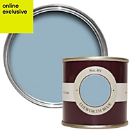 Farrow & Ball Lulworth Blue no.89 Estate emulsion paint 0.1L Tester pot
