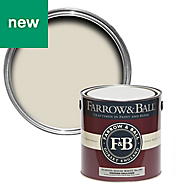 Farrow & Ball Modern School house white No.291 Matt Emulsion paint, 2.5L