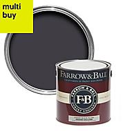 Farrow & Ball Modern Paean black No.294 Matt Emulsion paint 2.5L