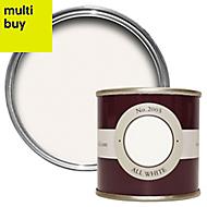 Farrow & Ball Estate All white No.2005 Emulsion paint 0.1L Tester pot