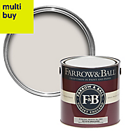 Farrow & Ball Estate Strong white No.2001 Matt Emulsion paint 2.5L