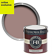 Farrow & Ball Estate Sulking room pink no.295 Matt Eggshell paint 2.5L