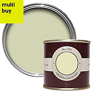 Farrow & Ball Estate Green ground No.206 Matt Emulsion paint 0.1L Tester pot