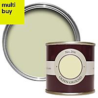 Farrow & Ball Estate Green ground No.206 Matt Emulsion paint 0.1L Tester pot