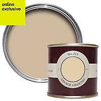 Farrow & Ball Estate Savage ground No.213 Emulsion paint, 0.1L Tester pot