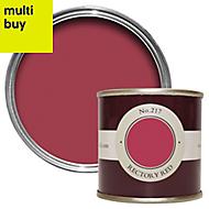 Farrow & Ball Estate Rectory red No.217 Matt Emulsion paint 0.1L Tester pot