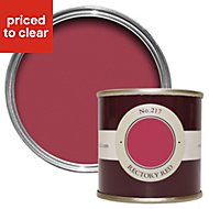 Farrow & Ball Rectory Red no.217 Matt Estate emulsion paint 0.1L Tester pot