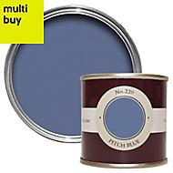 Farrow & Ball Estate Pitch blue No.220 Matt Emulsion paint 0.1L Tester pot