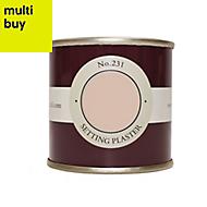 Farrow & Ball Estate Setting plaster No.231 Emulsion paint 0.1L Tester pot