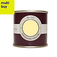 Farrow & Ball Estate Dayroom yellow No.233 Emulsion paint 0.1L Tester pot
