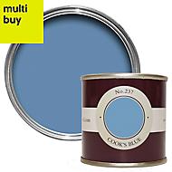 Farrow & Ball Estate Cook's blue No.237 Emulsion paint 0.1L Tester pot