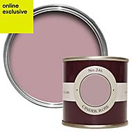 Farrow & Ball Estate Cinder rose No.246 Emulsion paint, 0.1L Tester pot