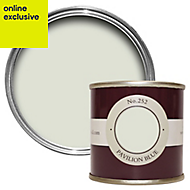 Farrow & Ball Estate Pavilion blue No.252 Emulsion paint 0.1L Tester pot