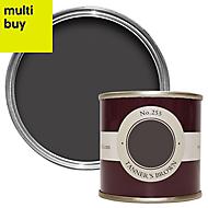 Farrow & Ball Estate Tanners brown No.255 Emulsion paint 0.1L Tester pot