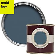 Farrow & Ball Estate Stiffkey blue No.281 Emulsion paint 0.1L Tester pot