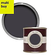 Farrow & Ball Paean black No.294 Matt Emulsion paint 0.1L Tester pot