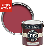 Farrow & Ball Rectory Red no.217 Matt Estate emulsion paint 2.5L