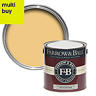 Farrow & Ball Estate Yellow ground No.218 Matt Emulsion paint 2.5L