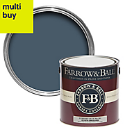 Farrow & Ball Estate Stiffkey blue No.281 Matt Emulsion paint 2.5L