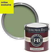 Farrow & Ball Yeabridge Green no.287 Matt Estate emulsion paint 2.5L