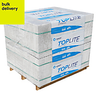 Toplite Aerated concrete Block (L)440mm (W)100mm, Pack of 90
