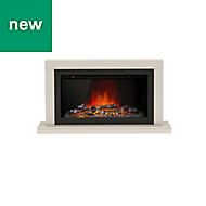 Be Modern Camaro Cashmere Electric Fire Suite