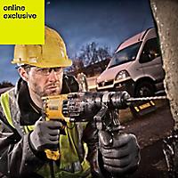 DeWalt 800W 240V Corded SDS plus Brushed Hammer drill D25133K-GB