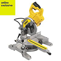 DeWalt 1100W 240V 210mm Compound mitre saw DWS777-GB