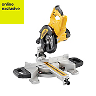 DeWalt 1100W 240V 216mm Compound mitre saw DWS773-GB