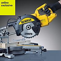Dewalt 1100W 240V 216mm Compound mitre saw DWS773-GB