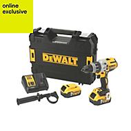 DeWalt Cordless 18V 5Ah XR Li-ion Combi Drill 2 batteries DCD996P2-GB